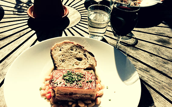Lunch på Rosendal