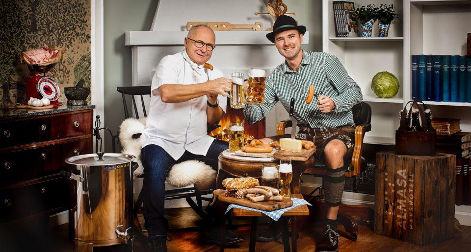 Öl och mat med Norbert Lang och Gustav Lindh