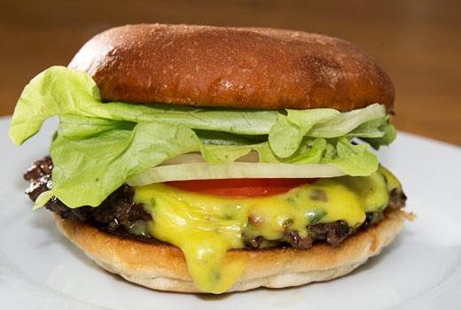 Egen hamburgerost